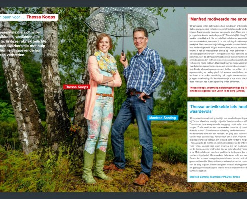 Lindez in het FCB-magazine